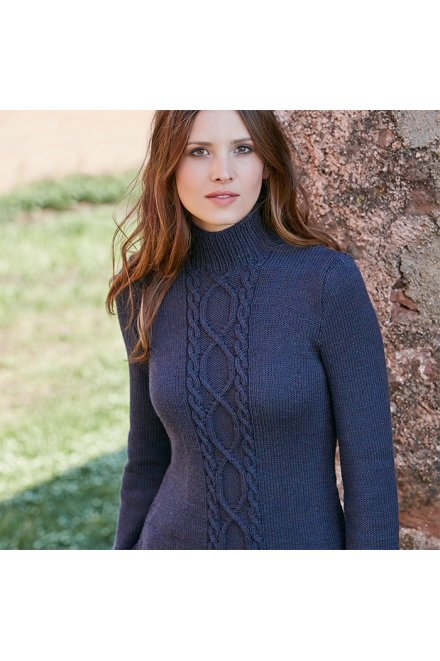 Modèle tricot pull dailly