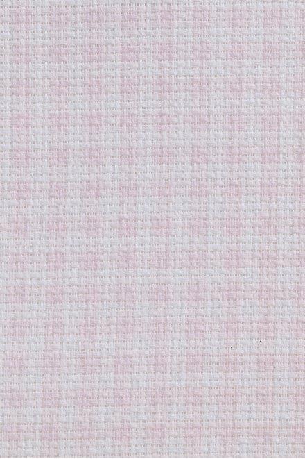 Toile prédécoupée aïda imprimée vichy, 5,5 points/cm