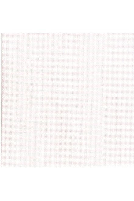 Toile prédécoupée aïda imprimée pastel rayée, 5,5 points/cm