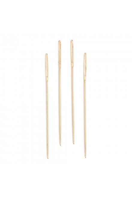 DMC Gold Plated Needles size 22