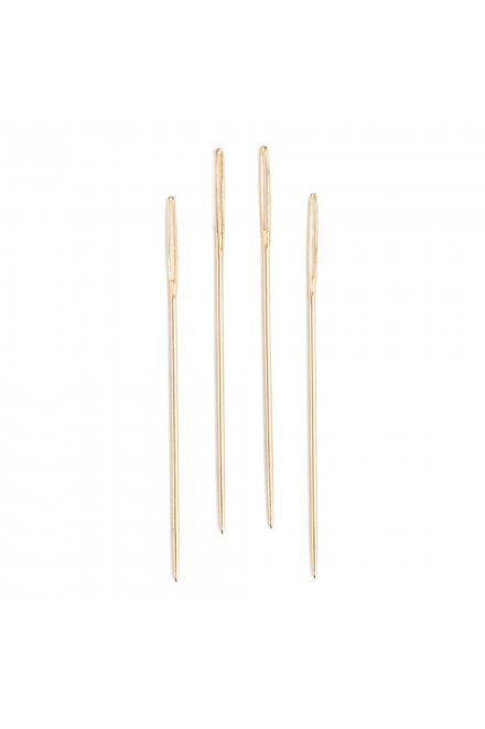 サイズ7-10/18K GOLD エンブロイダリー針
