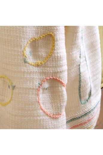Modelo tricot baby fun alfombra de juego