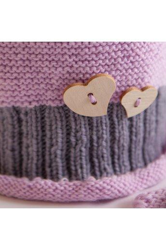 Modèle tricot cupcake bonnet