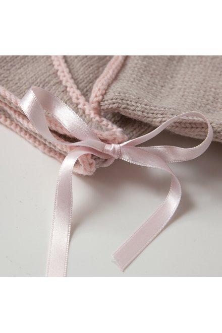 Modèle tricot  dolly cache coeur