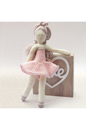 Modelo tricot dolly muñeca