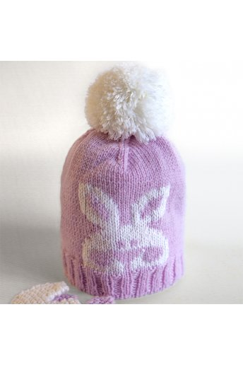Modèle tricot funny bunny bonnet