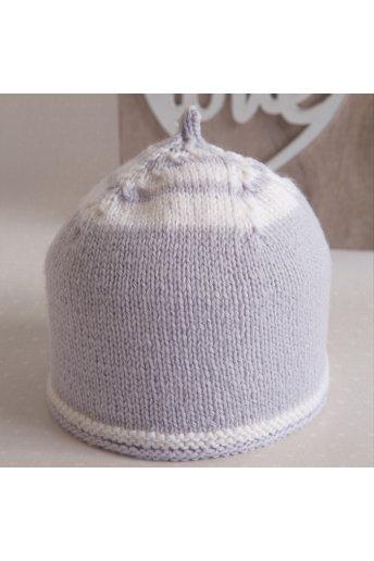 Modello tricot Mini berrettino neonato