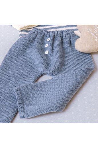 Modello tricot Moby Dick pantaloni maschietto