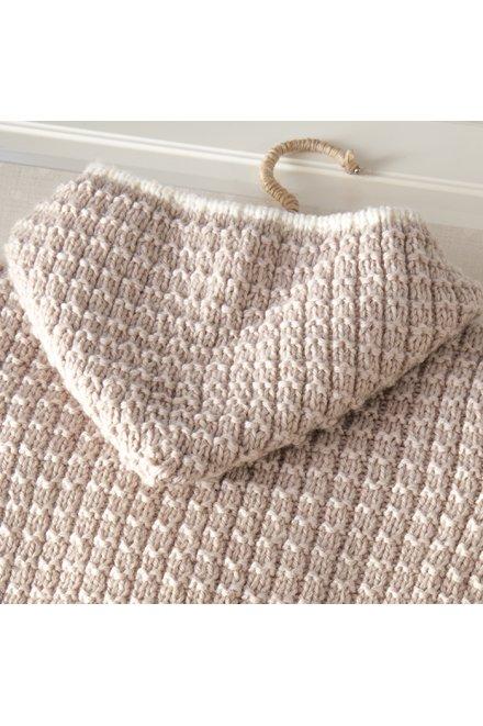 Modèle tricot robin manteau