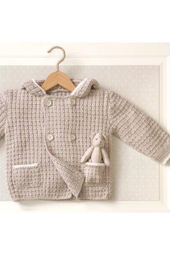 Modello tricot Robin cappottino unisex