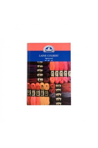 DMC Tapestry Wool Color Card