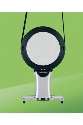 Lupa con luz led de cuello dn91211