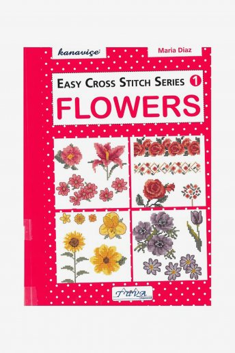 Easy cross stitch series, flowers book