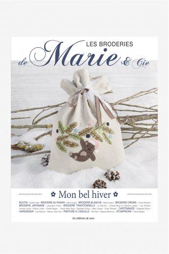Les broderies de Marie -  Mon bel hiver