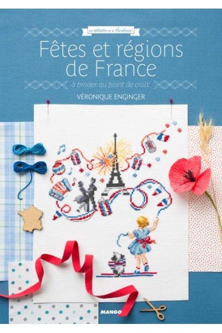 祝祭とフランスの地方 クロスステッチ図案集 Fêtes et régions de France A broder au point de croix
