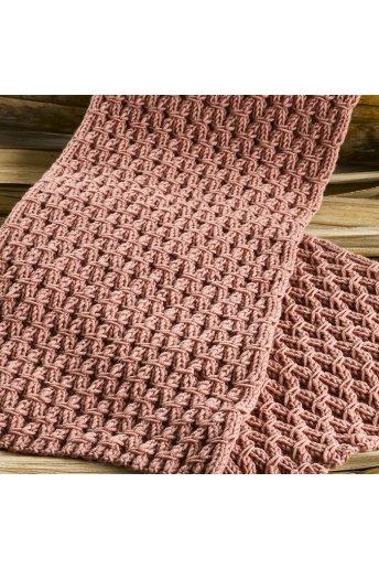 Modèle tricot eda écharpe