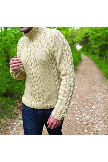Modèle tricot elian pull
