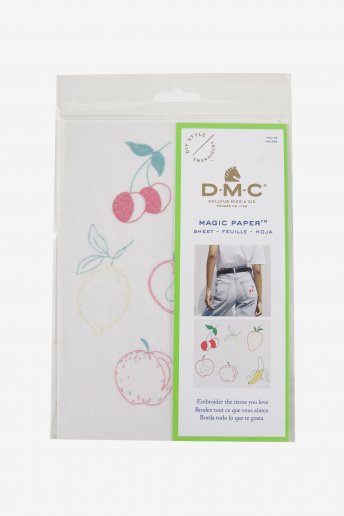 Fruit Collection Embroidery Magic Paper