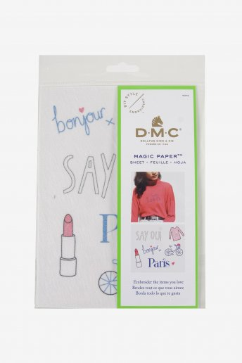 French Collection Embroidery Magic Paper