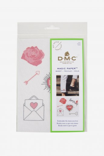 Love Collection Embroidery Magic Paper
