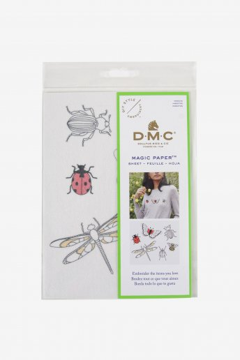 Insect Collection Embroidery Magic Paper