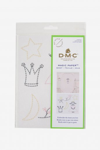 Magic Paper Princesse Collection en broderie traditionnelle