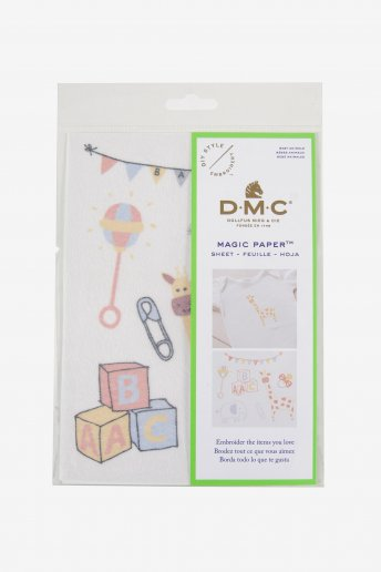 Birth Collection Embroidery Magic Paper