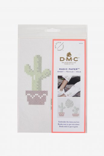 Cactus Collection Cross Stitch Magic Paper