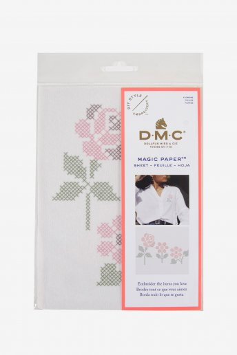 Flower Collection Cross Stitch Magic Paper