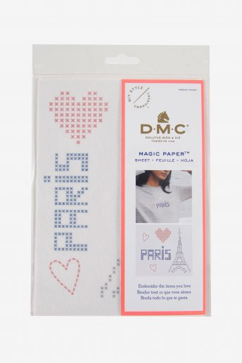 Paris Collection Cross Stitch Magic Paper