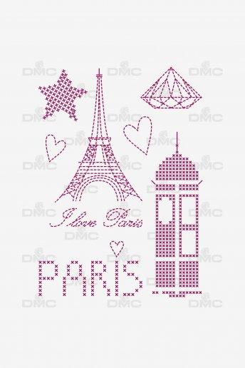 Feuille magique Custom by me - City Paris 2