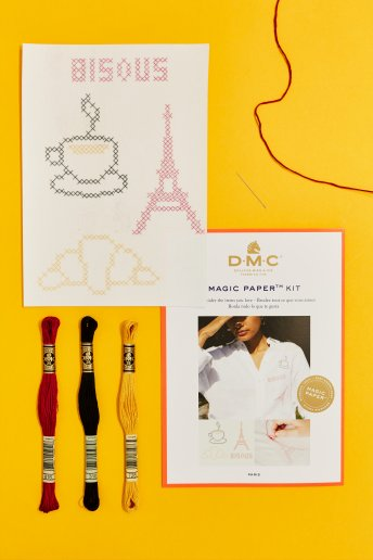 French Collection Cross Stitch Magic Paper Kit