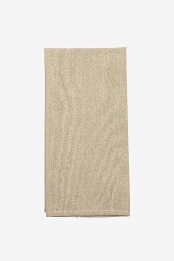 French Market Tea Towel - Natural Medium