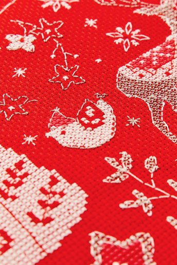 14 ct Holiday Aida Fabric