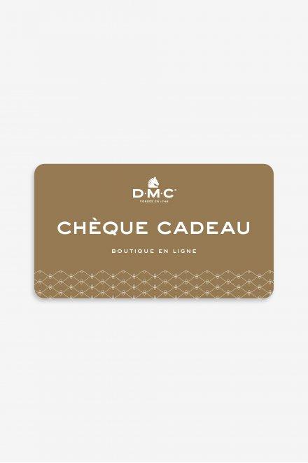 Cheque Cadeau - Valeur de 50€