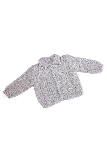 Modèle laine baby veste