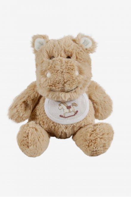 Hippopotamus soft toy to embroider