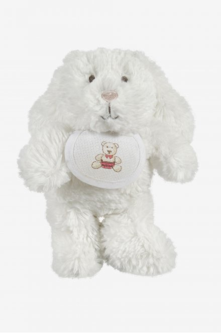 Rabbit soft toy to embroider