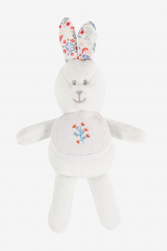 Folk Rabbit Soft Toy