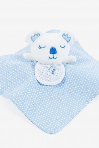 Stitchable Blue Koala Cuddly Blanket