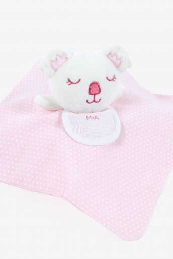 Pink Stitchable Koala Cuddly Blanket