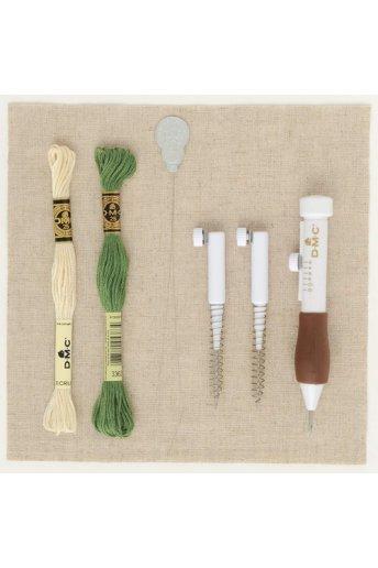 刺繍糸で愉しむパンチニードル