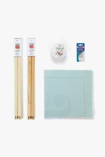 Ampersand Big Stitch Kit Mint