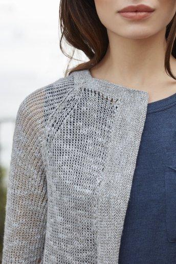 Chaqueta tricot modelo Hyacinth