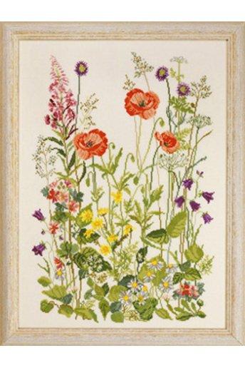 「Poppies(ポピー)」Permin Cross Stitch Kits ペルミン クロスステッチキット