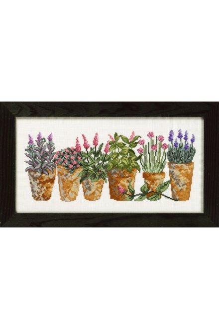 「Herbes(ハーブス)」Permin Cross Stitch Kits ペルミン クロスステッチキット