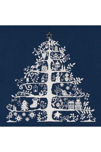 クリスマスキット(ツリー・紺)