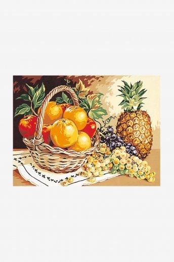 Canevas antique - Senteurs de fruits