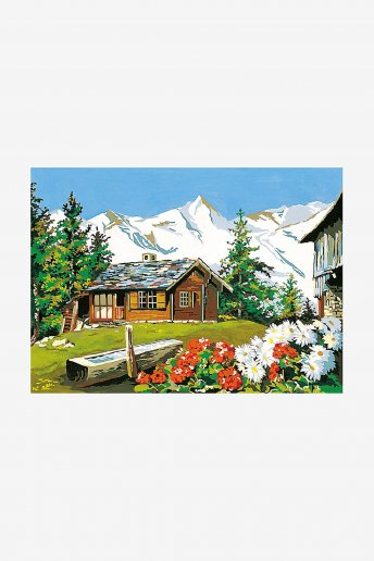 Antique Canvas - In The Mountains