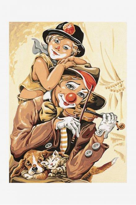 Antique Canvas - Circus Violins